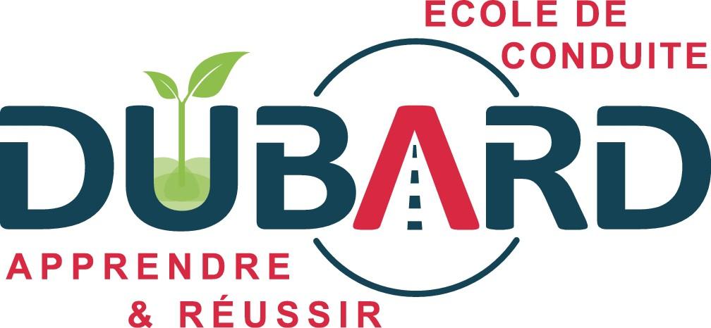 Créer un logo moderne pour l'école de conduite DUBARD