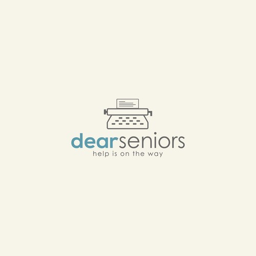 "Logo for ""DEAR SENIORS"""