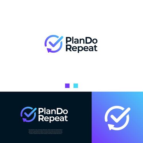 Modern Logo for PlanDoRepeat