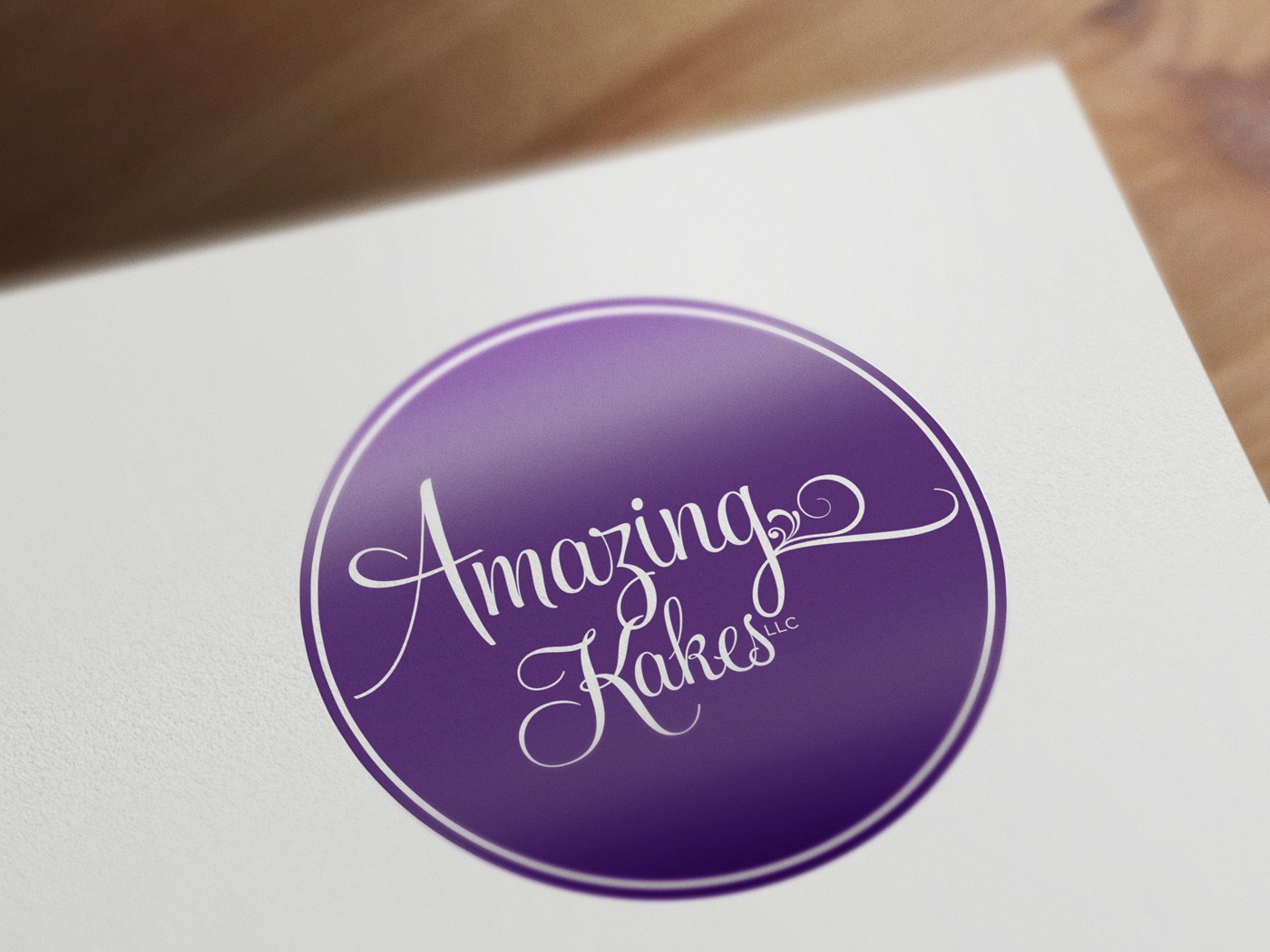 Help Amazing Kakes, LLC with a new logo