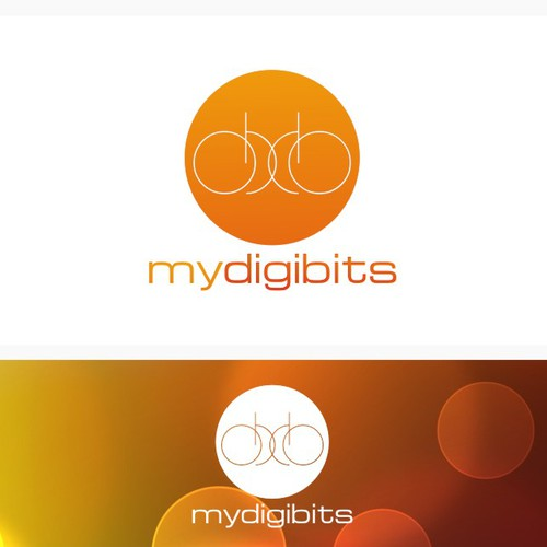 funky logo for my digibits