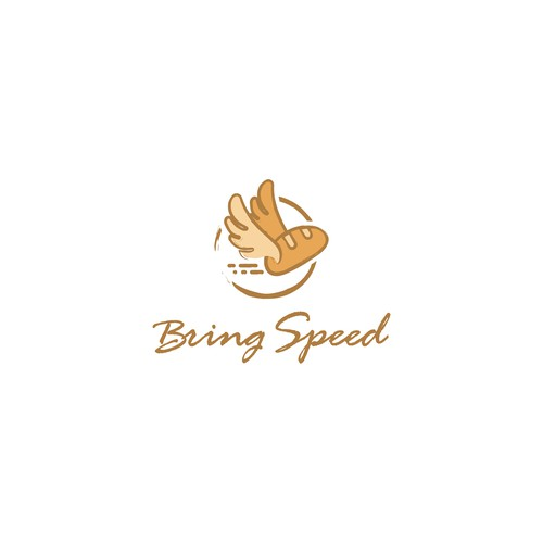 bread delivery service logo