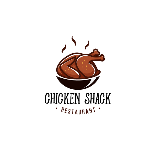 Rejected Chicken barbecue restaurant logo