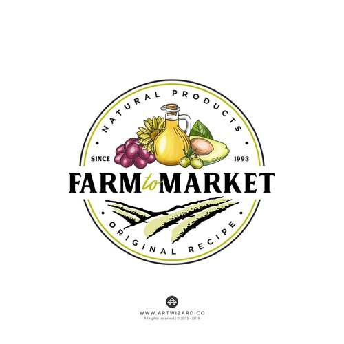 Vintage Logo for Farm to Market