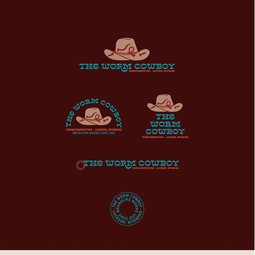 Brand Identity for The Worm Cowboy