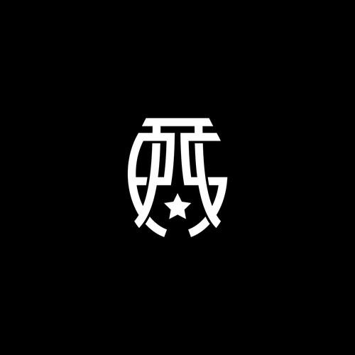 sport monogram concept