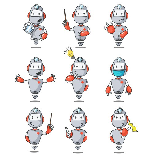 Robot Set Design