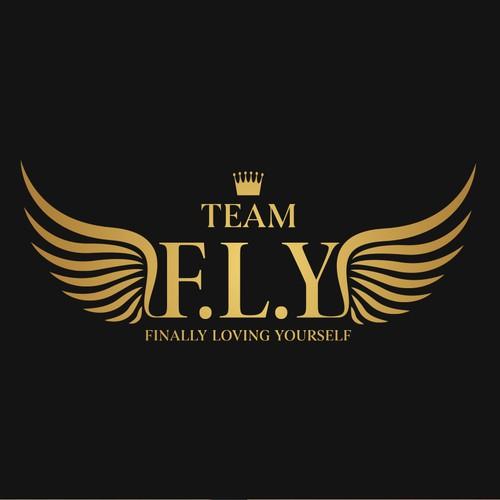 Team FLY fashion logo