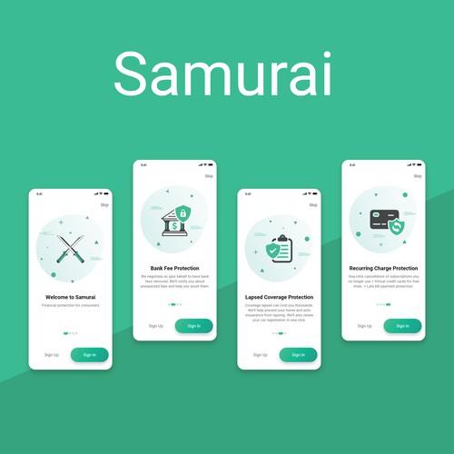 Samurai Mobile App - Green
