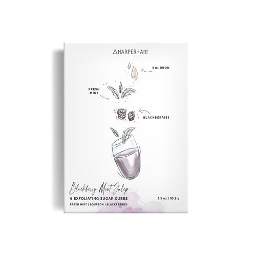Box illustrations & design