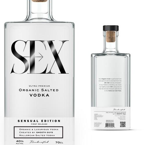 Sex organic Vodka