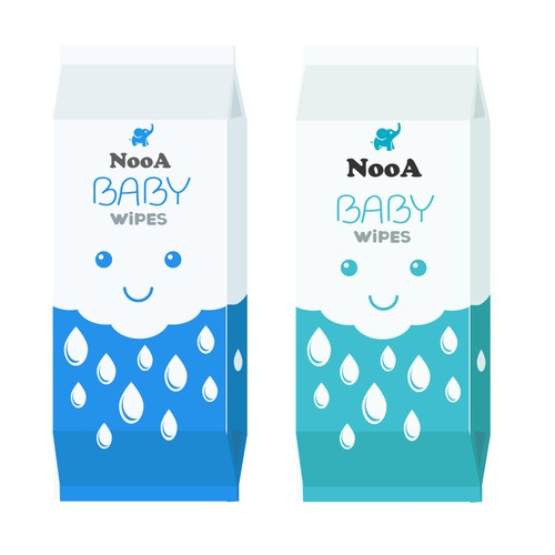 Package design for Baby product