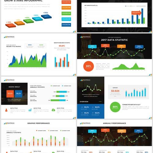 Professional presentation design for mining company