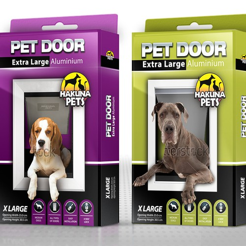 Design a new eye catching packaging style guide for Hakuna Pets