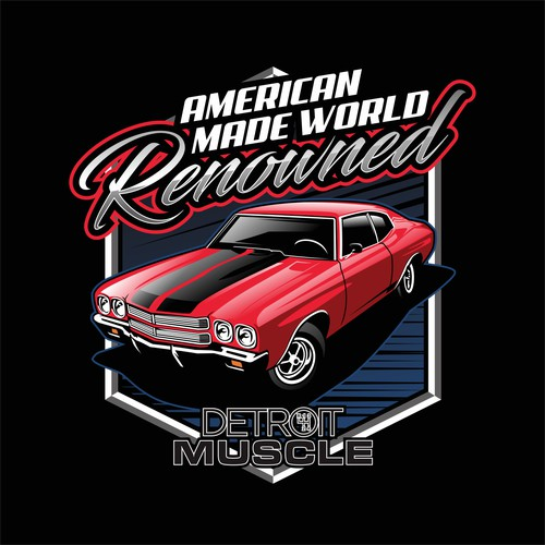 American Muscle Car Shirt Needed