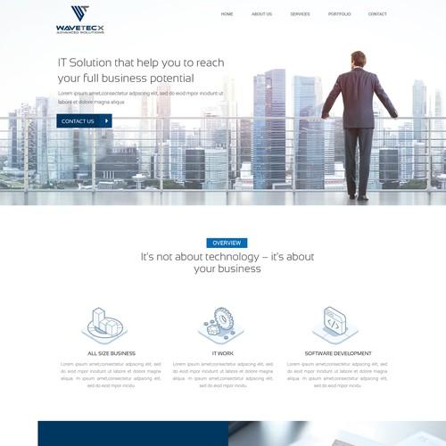 WAVETECX Needs a Powerful new Website!
