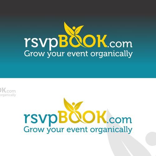 Modern logo for rsvpbook.com