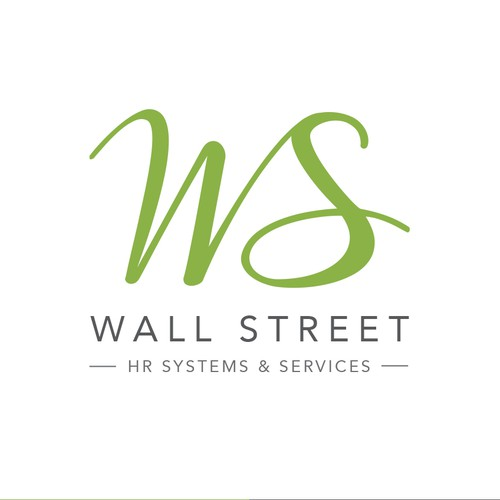 Logo concept for Wall Street - HR Systems & Services