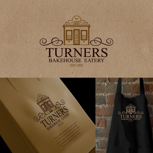 Create the next logo for Turners Bakehouse Eatery