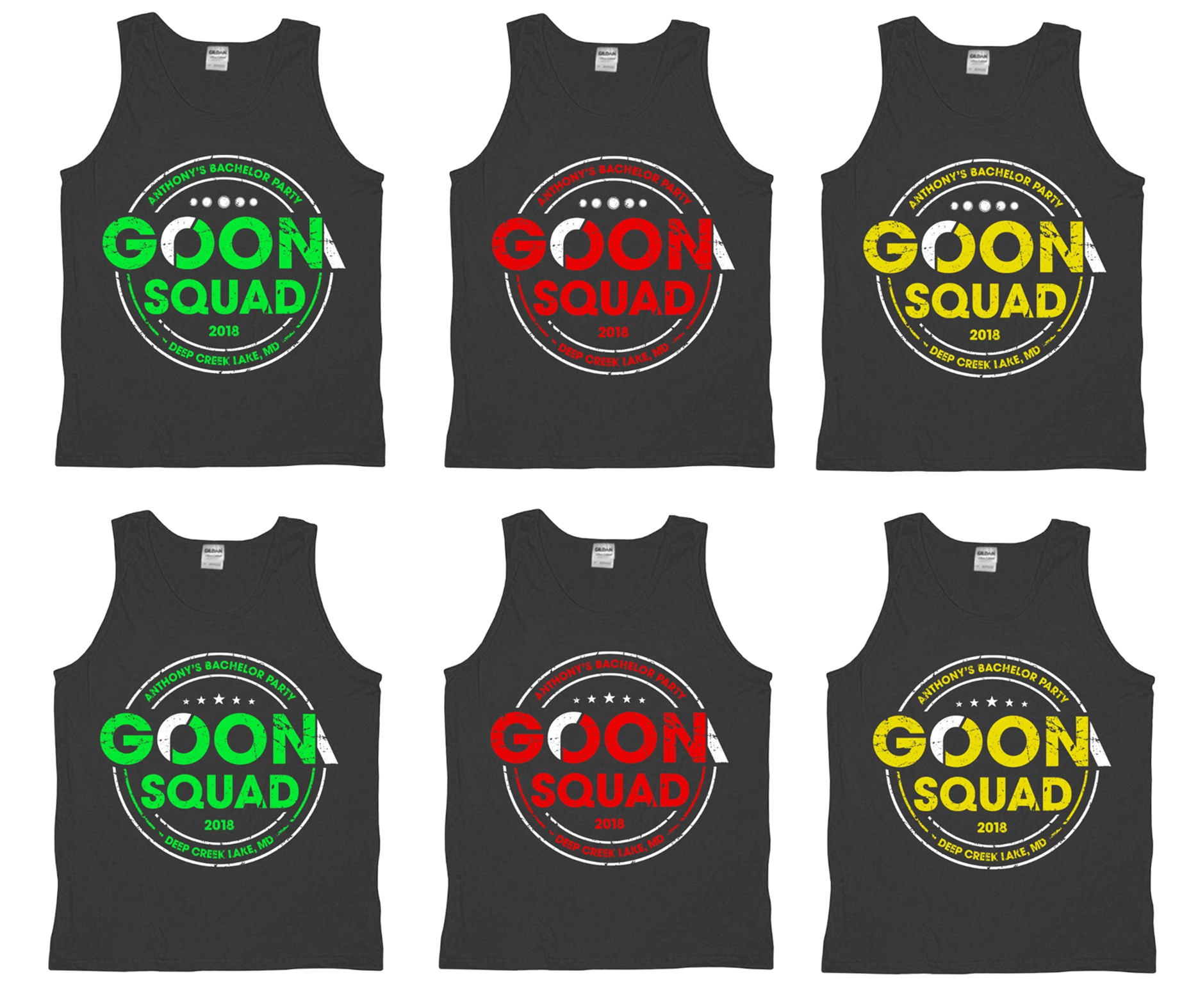Bachelor Party Needs Funny Tank Tops
