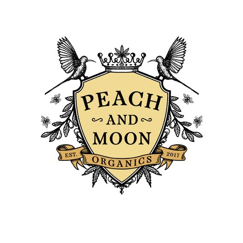 Peach and moon organics