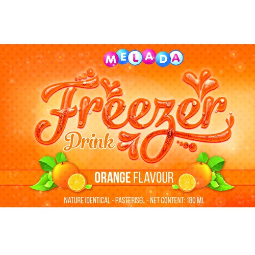 Cool drink for Kids and Teenagers, with fruity flavours, drink chilled or frozen.