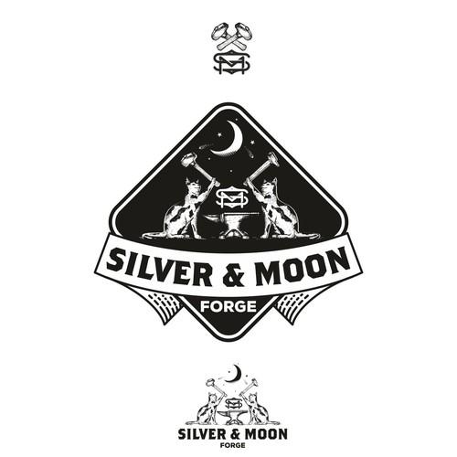 Silver & Moon logo