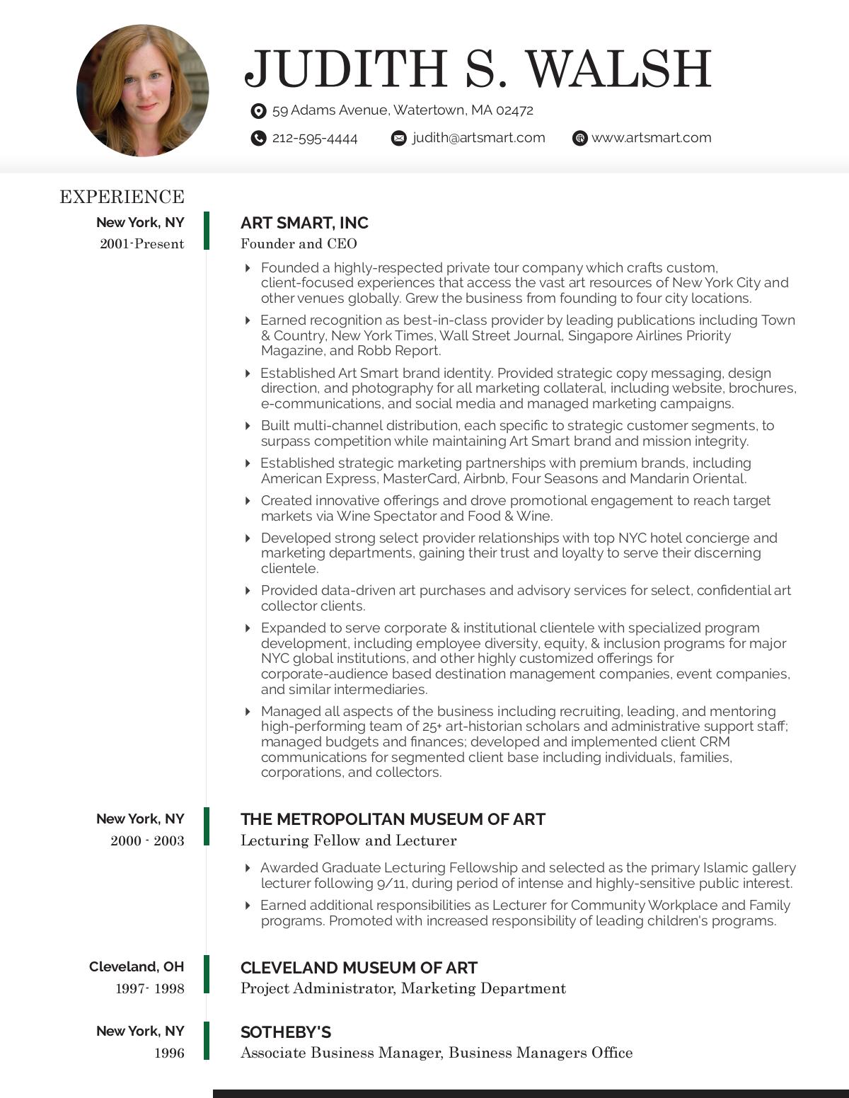 Resume- UPDATED resume