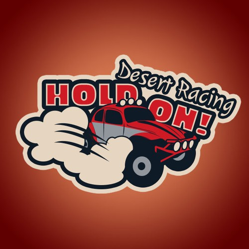 Create a action oriented logo for a Baja 1000 race team