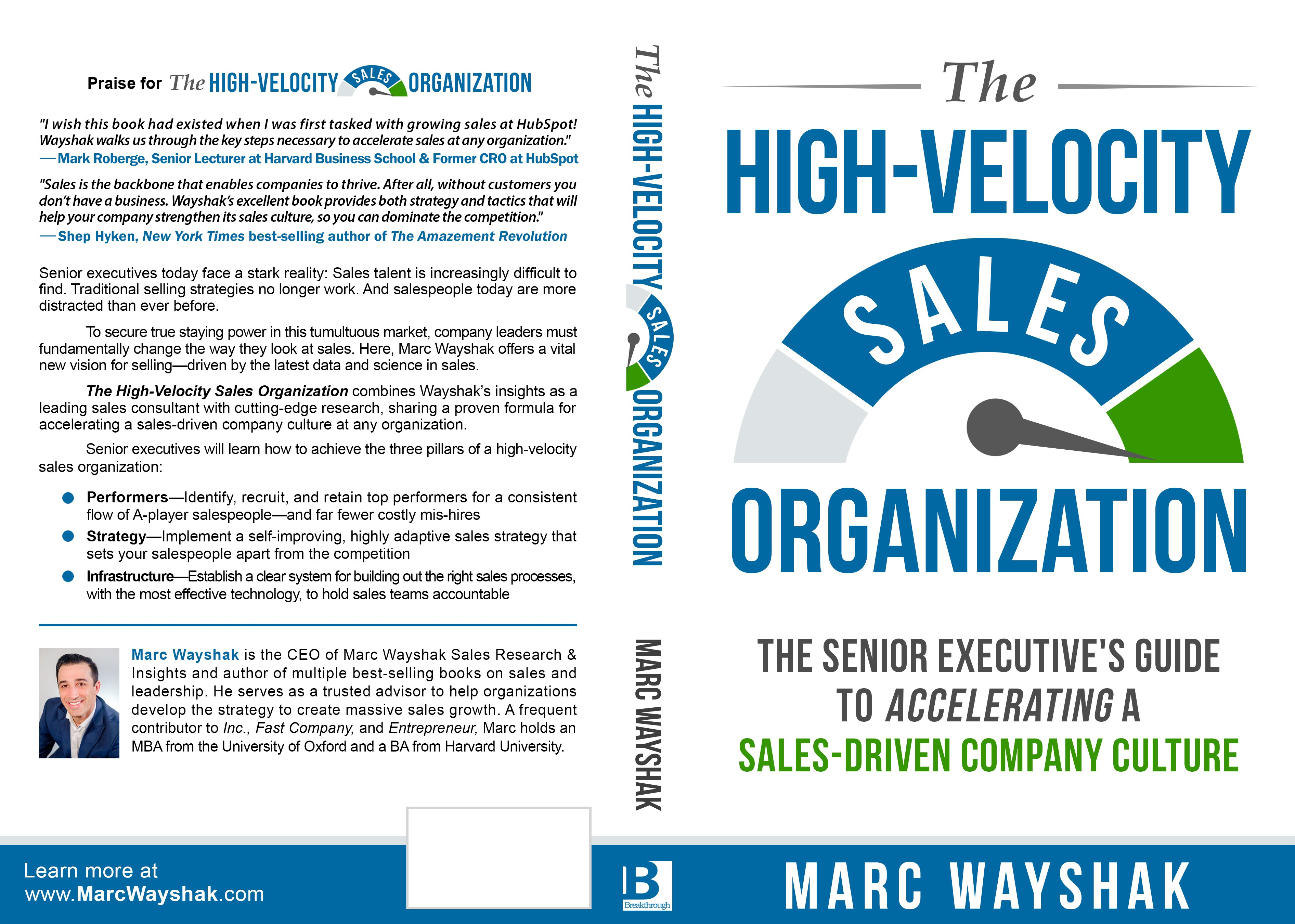 Looking for a book cover that will blow away senior sales execs!