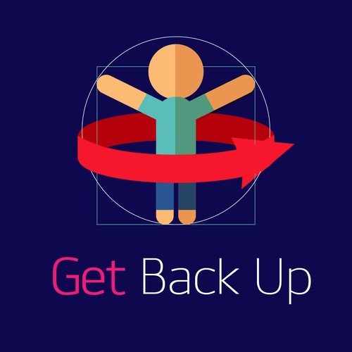 Cover Art for the Get Back Up Podcast.