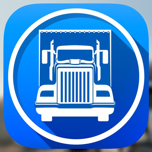 "iPhone ""RoadBreakers"" App Icon Design"