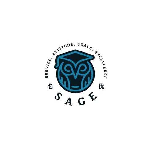 Owl logo for SAGE