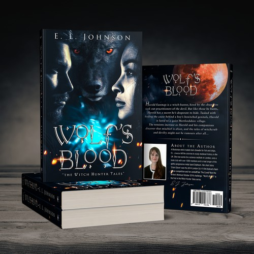 "Book Cover for ""Wolf's Blood"""
