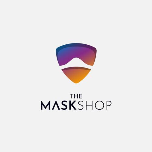 Logo for mask shop