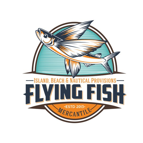 logo for Flying Fish Mercantile