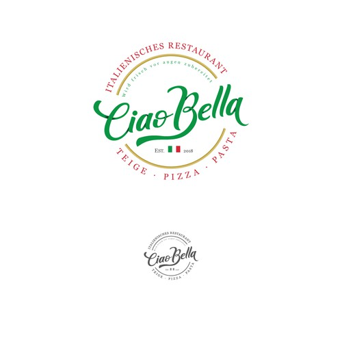Logo for italian restaurant