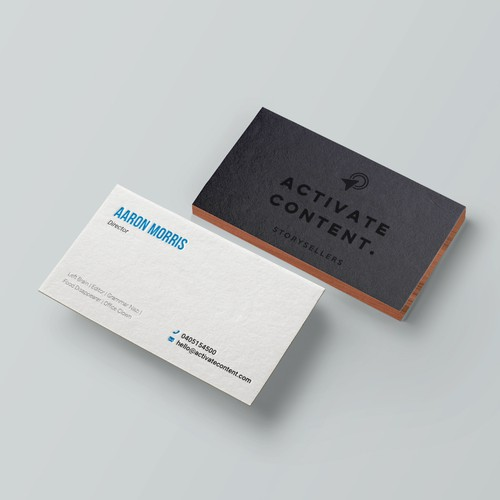 Business Card for Activate Content
