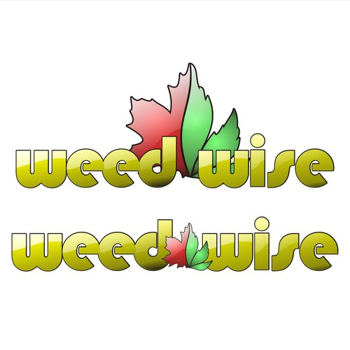 Bold logo concept for WEED-WISE Alberta