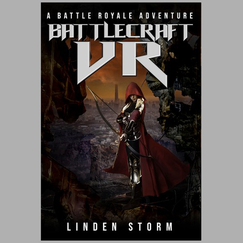 Design a cool sci-fi book cover for Linden Storm