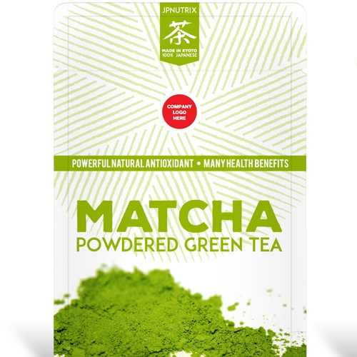 Matcha Green Tea Packaging