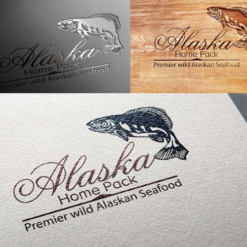 premier wild Alaska seafood logo