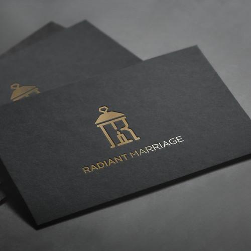 Logo design for Radiant Marriage