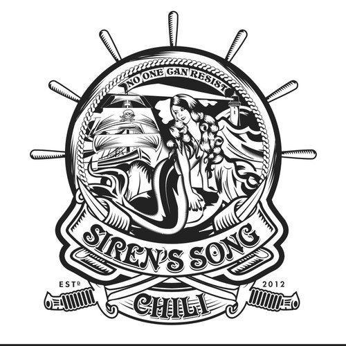 Create the next logo for Siren's Song Chili