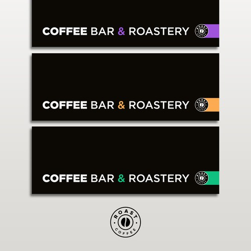 Front Signage for Coffee Shop