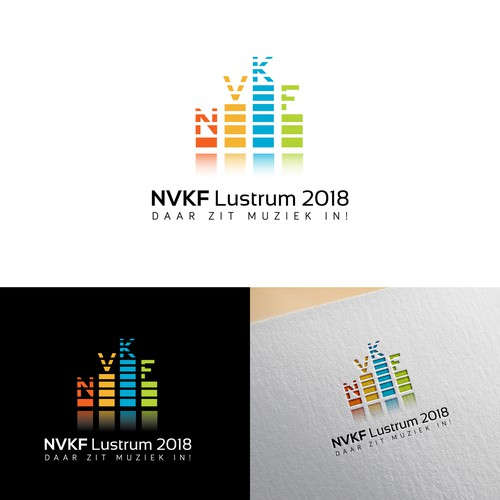Congres logo for NVKF Lustrum 2018