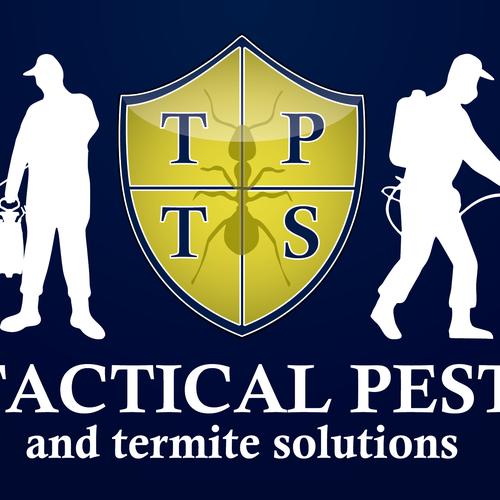 Pest extermination logo.