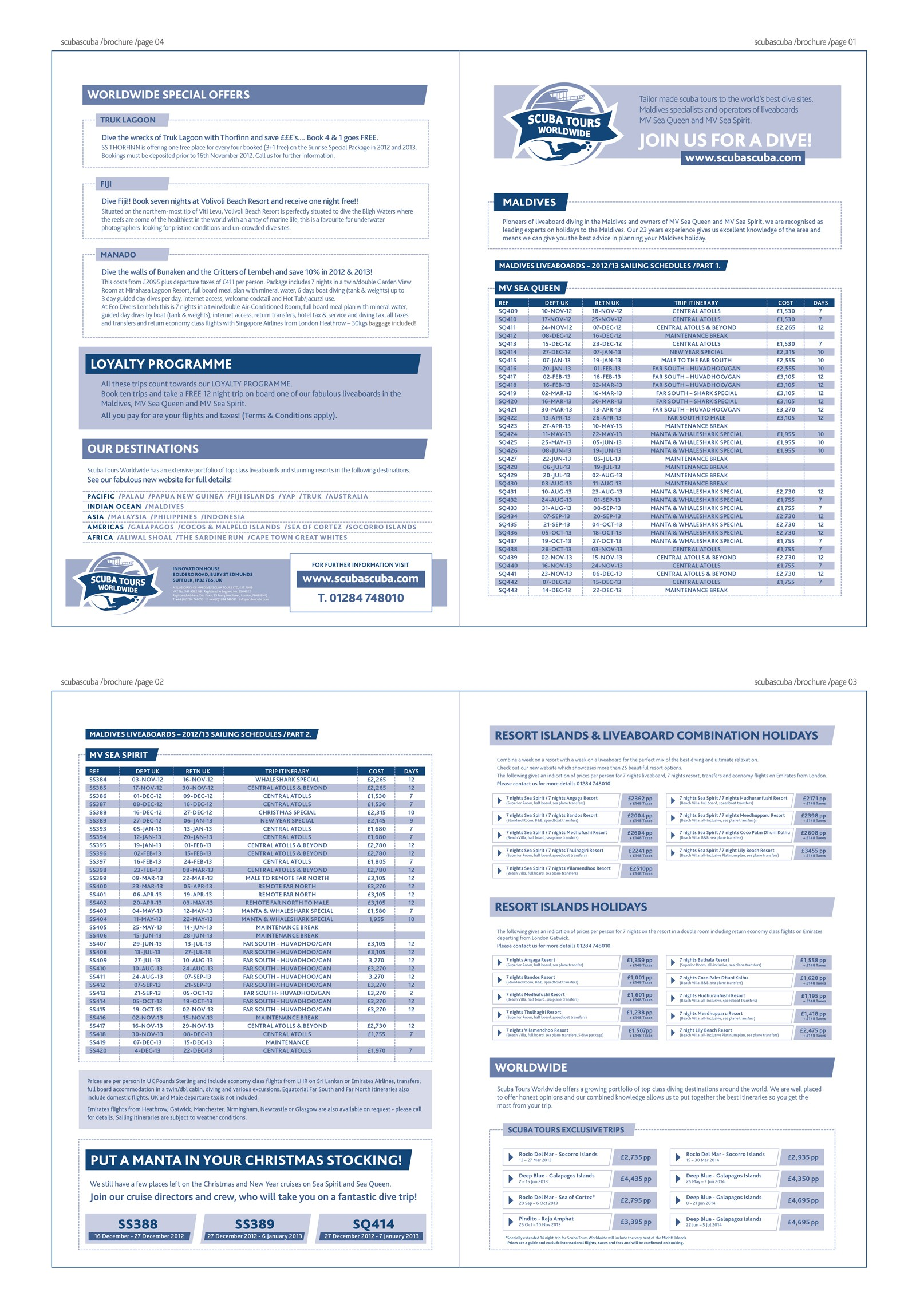 Scuba diving company needs text organising into flyer - simple job !