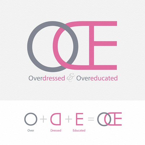 Overdressed and Overeducated logo
