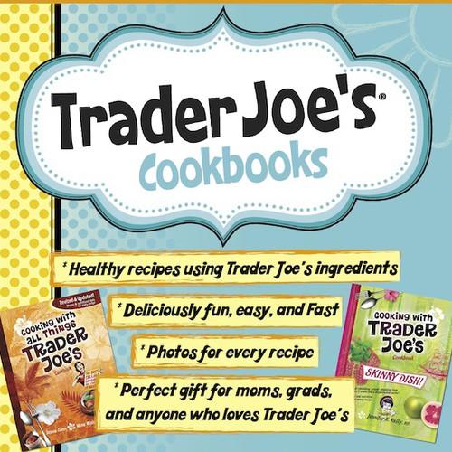 Trader Joe's Cookbooks Sign